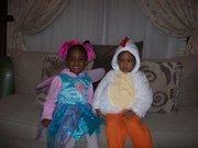 Halloween 09 Sweet bird and cheerleader