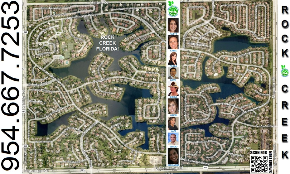 Rock Creek Listing Agent ~ Cooper City Florida!
