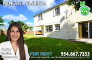 Homes For Rent in Kendall - Miami Florida