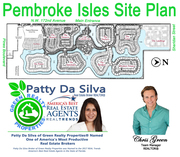 Pembroke Isles Site Plan | Pembroke Isles Community Map | Patty Da Silva Sells Pembroke Isles Homes