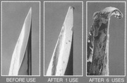 Needle Before and After Use