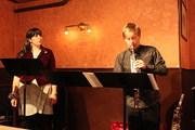 Norma and Dennis, Vivaldi Caffé performance