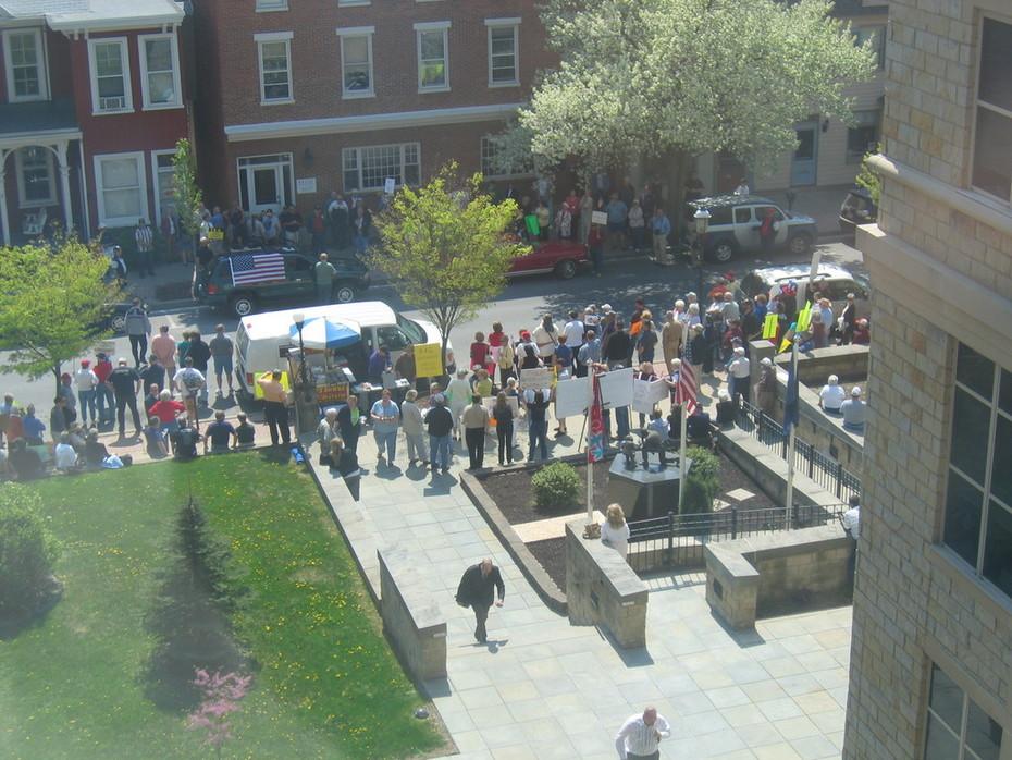 Blair County rally 2010