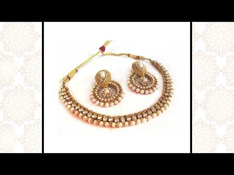 Latest Women Designer Necklace at IndiaRush
