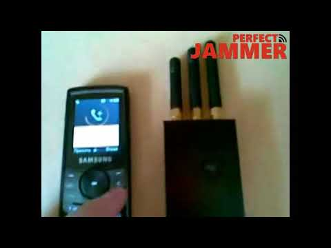 GSM 3G GPS WiFi Signals Mini Portable Jammer