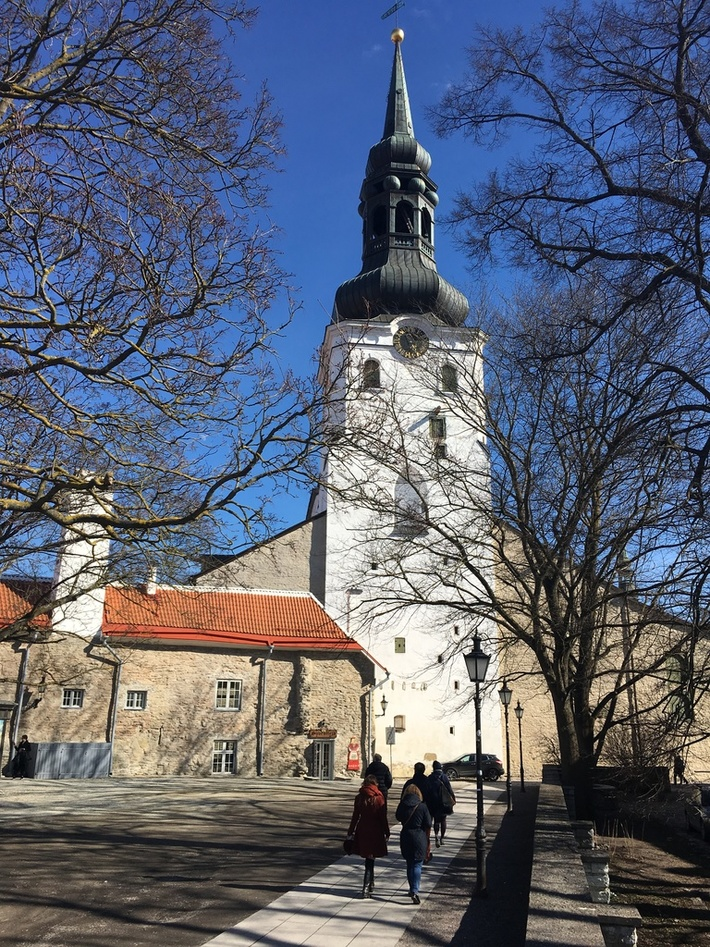 The Cathedral of Saint Mary the Virgin in Tallinn, also known as Dome Church