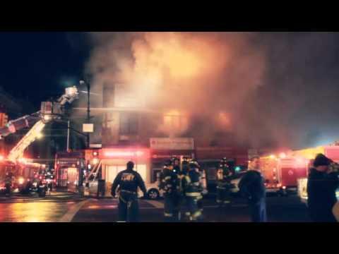 Fire on 207 Street 1/3/12