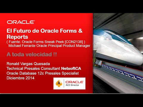 El Futuro de Oracle Forms & Reports