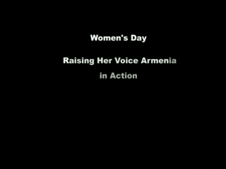 Raising Her Voice in Armenia