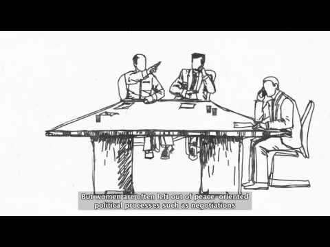 Women's Participation in Peace-building: why and how? مشاركة النساء في صنع السلام: لماذا وكيف؟