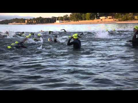 2013 Jarden Westchester Triathlon  Intro/Swim