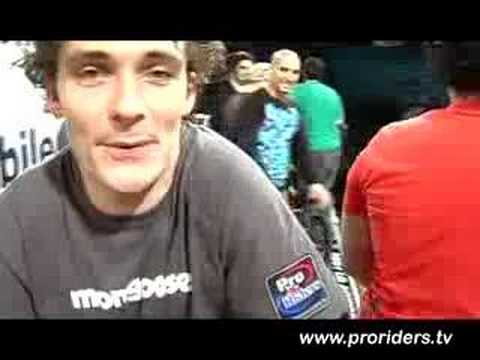 Pro Riders called the final shot in Dallas, TX 2007 BMX Vert