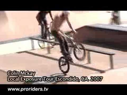 Pro Rider Allan Cooke's Local Exposure #1 Escondido, CA.2007