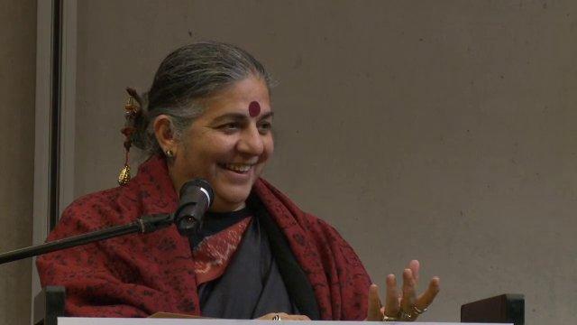 Keynote speech Vandana Shiva