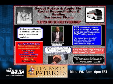 Gettysburg Invitation To The Tea Party