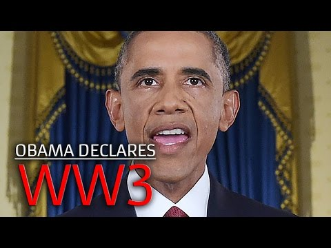 WW3: Obama cautiously Declares War in Middle East