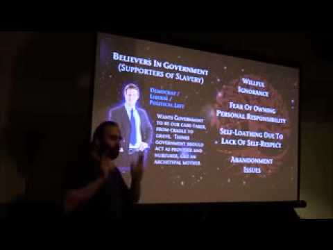 Mark Passio Believers In Government Are Supporters Of Slavery HD