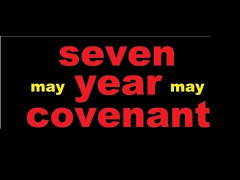 GOD SAYS The Covenant Is In May (NOT ME!)