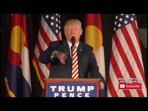 Donald Trump Rally in Colorado Spings Colorado 10/18/2016 Trump Colorado Springs Speech