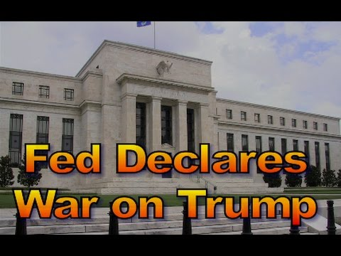 The Fed Declares War on Trump, #1454