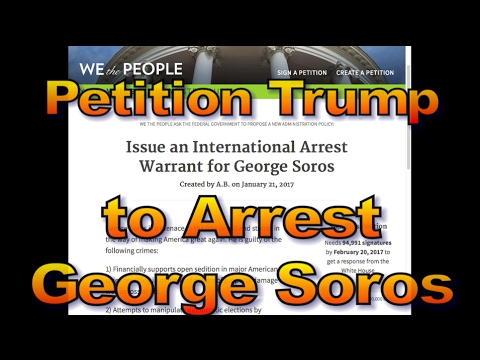 Petition to Arrest George Soros, 1490