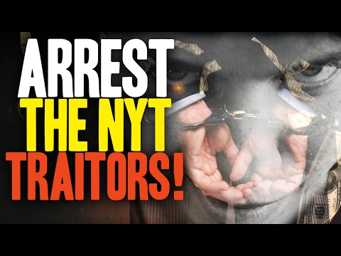 NYT commits TREASON to overthrow the U.S. government