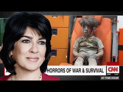 CNN #FakeNews Amanpour Challenged to Interview Aleppo Boy's Father - #NewWorldNextWeek