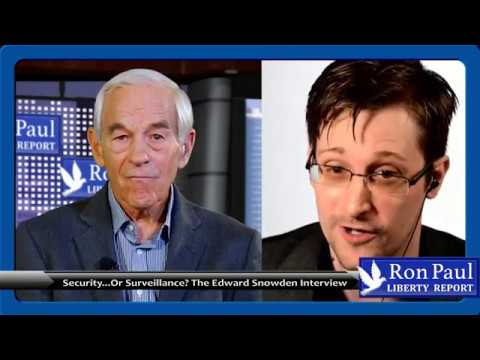 Security...or Surveillance? The Edward Snowden Interview