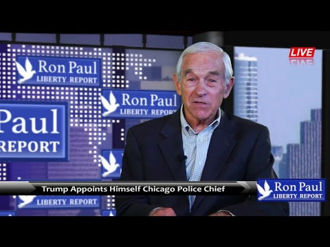 Trump Appoints Himself Chicago Police Chief