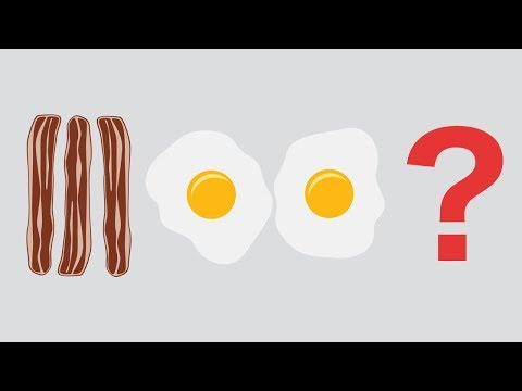 Why Do You Eat Bacon And Eggs?