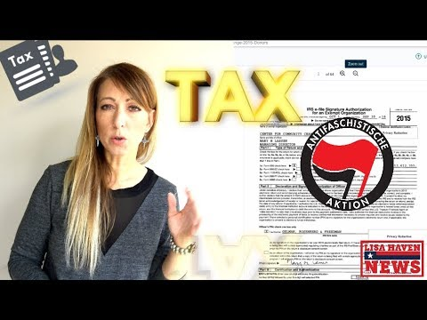 You Won't Believe WHO Was JUST Found On Antifa's LEAKED Tax Return—BOMBSHELL!