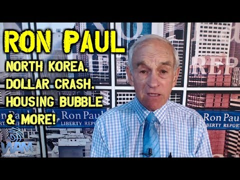 Ron Paul On North Korean False Flag, Dollar Crash, Housing Bubble & Rand Paul (FULL Interview)