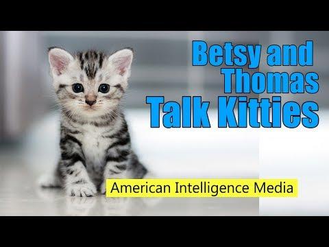 Betsy and Thomas Talk Kitties