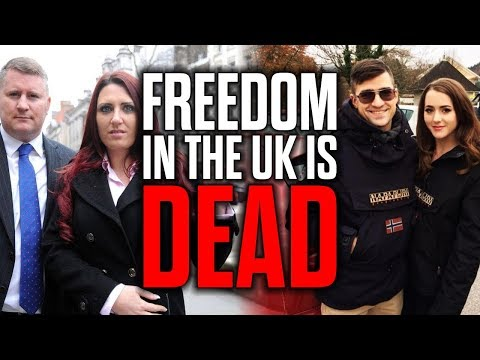 Freedom in the UK is Dead - Sellner & Pettibone BANNED