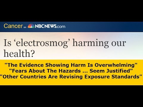 2010 NBC Article: Evidence Of EMF's (WIFI) Showing Harm Is Overwhelming