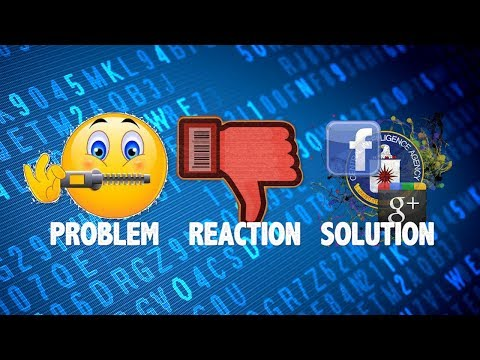 Problem Reaction Solution: Internet Censorship Edition