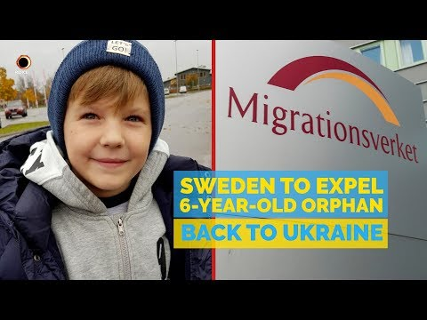 Sweden To Expel 6-Year-Old-Orphan Back To Ukraine