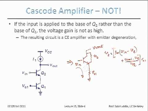 Electrical Engineering 105 - Lecture 15