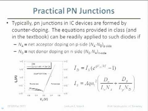 Electrical Engineering 105 - Lecture 5