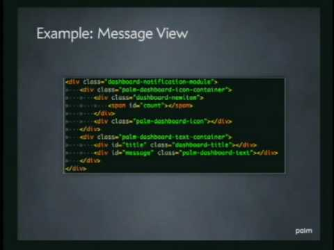 Lecture - 6 Developing WebOS Apps: Advanced Development and Techniques