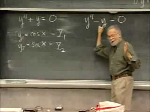 Lec 11   MIT 18.03 Differential Equations, Spring 2006