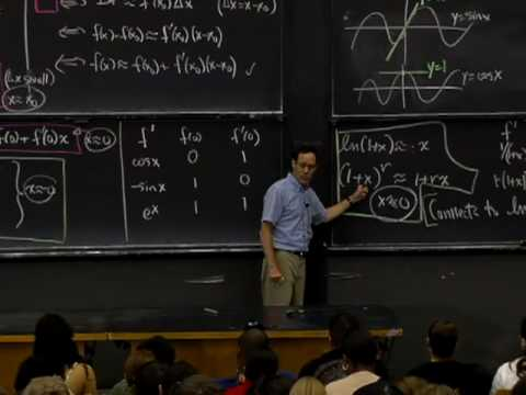 Lec 9   MIT 18.01 Single Variable Calculus, Fall 2007