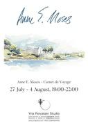 Anne E. Moses Exhibition - Carnet de Voyage