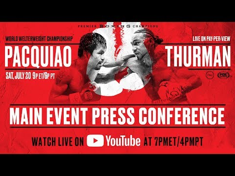 Free Pacquiao vs Thurman Live
