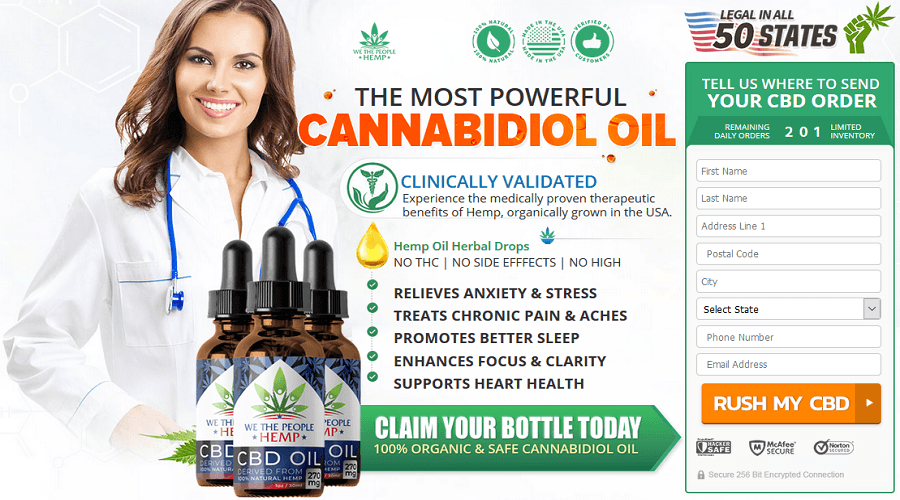 We The People CBD Oil