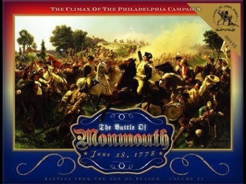 The Battle of Monmouth (28 June 1778) [FULL BATTLE Report]