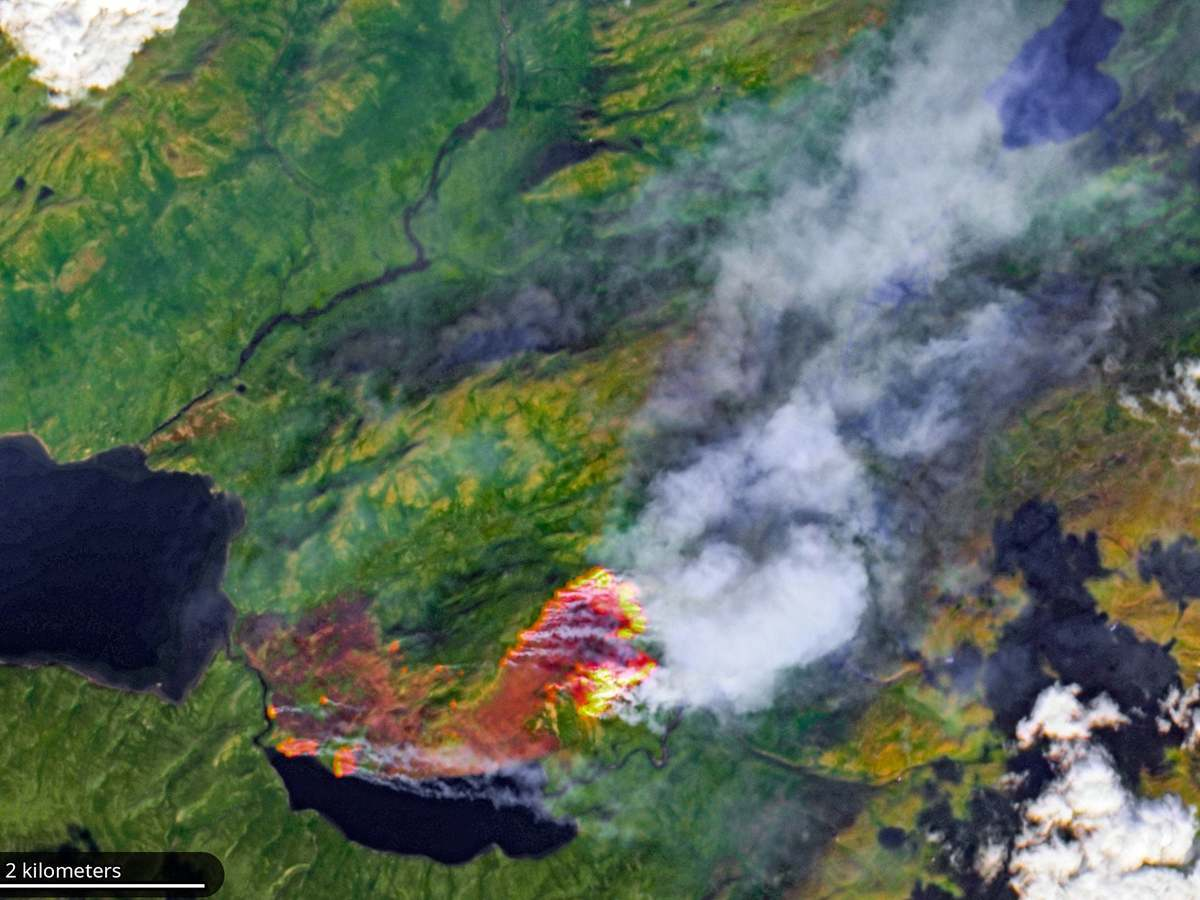 Independent: Huge swathes of the Arctic on fire, 'unprecedented' satellite images show