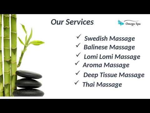 Omega Spa  Best Full Body Massage Center In Lajpat Nagar Delhi