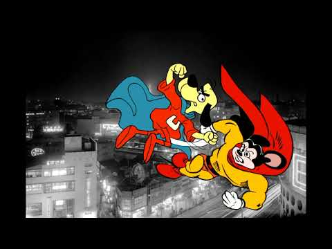 Mighty Mouse versus Underdog Crossover