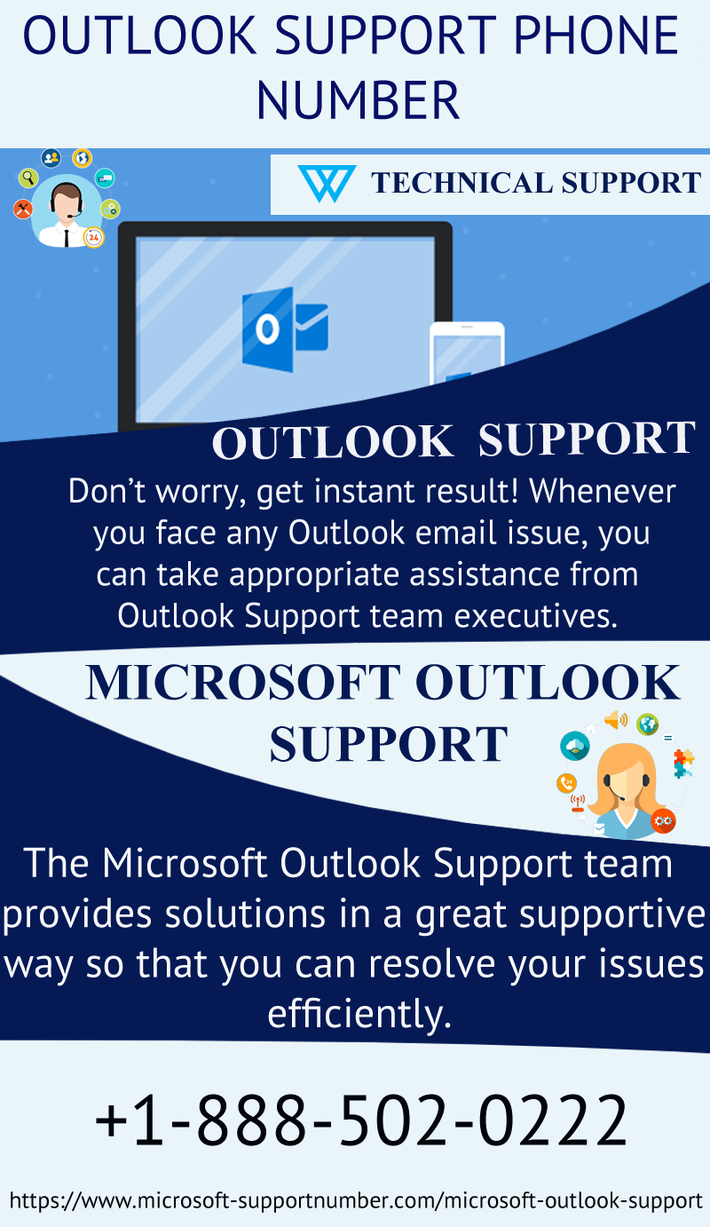 Dial Outlook Support Phone Number +1-888-502-0222 to fix common errors